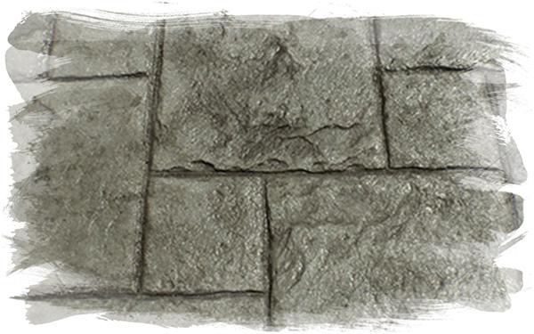 Tetra Stone Stamp Concrete Pattern