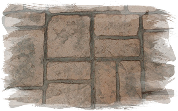 Verona Cobblestone Stamp Concrete Pattern